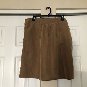 A new day tan straight skirt